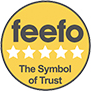 Feefo - 5 Star Rated - The Symbol of Trust